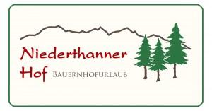Logo Niederthanner-Hof, Nußdorf am Inn