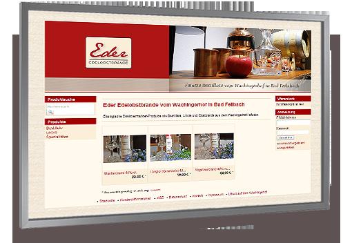 Zum Online-Shop der Brennerei Eder