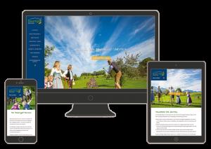 Responsive Internetseite: Bauerngolf-Samerberg.de