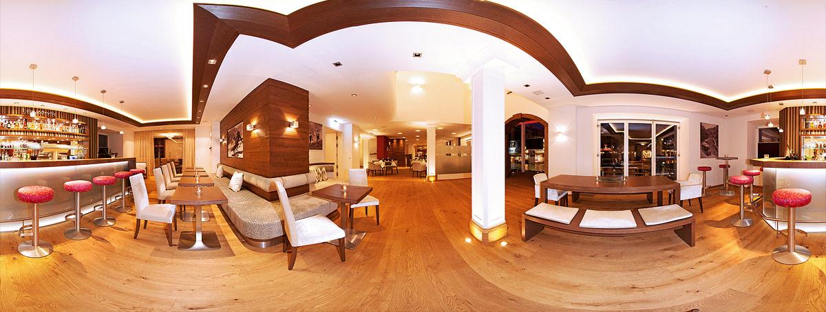Hotel Innanaufnahme 360°-Rundumfoto