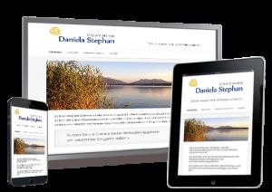 Beispiel einer responsive Website