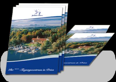 Tagungsbroschüre für das Yachthotel Chiemsee