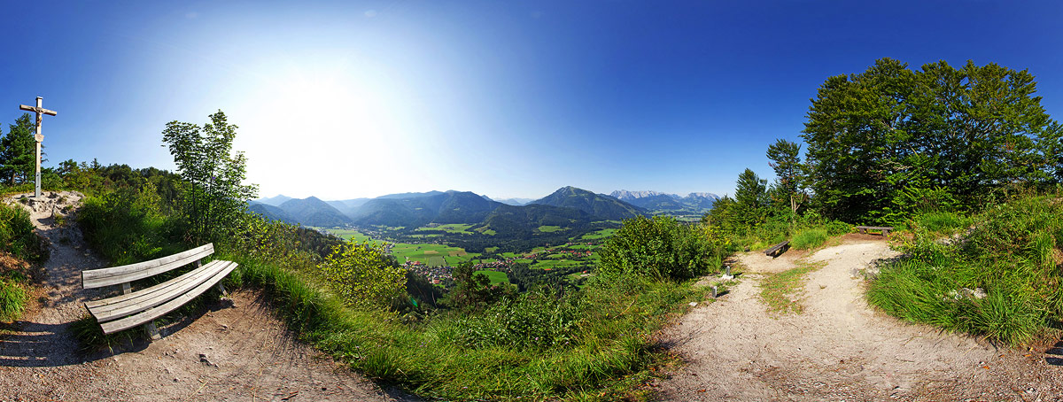 360°-Panorama Wetterkreuz
