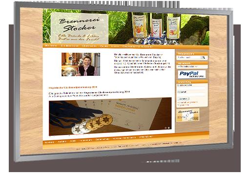 Online-Shop der Brennerei Stocker