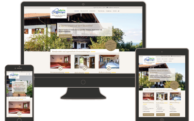 Neue Website für den Labergerhof am Samerberg