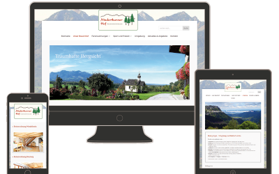 Neue Website für den Niederthanner Hof in Nußdorf