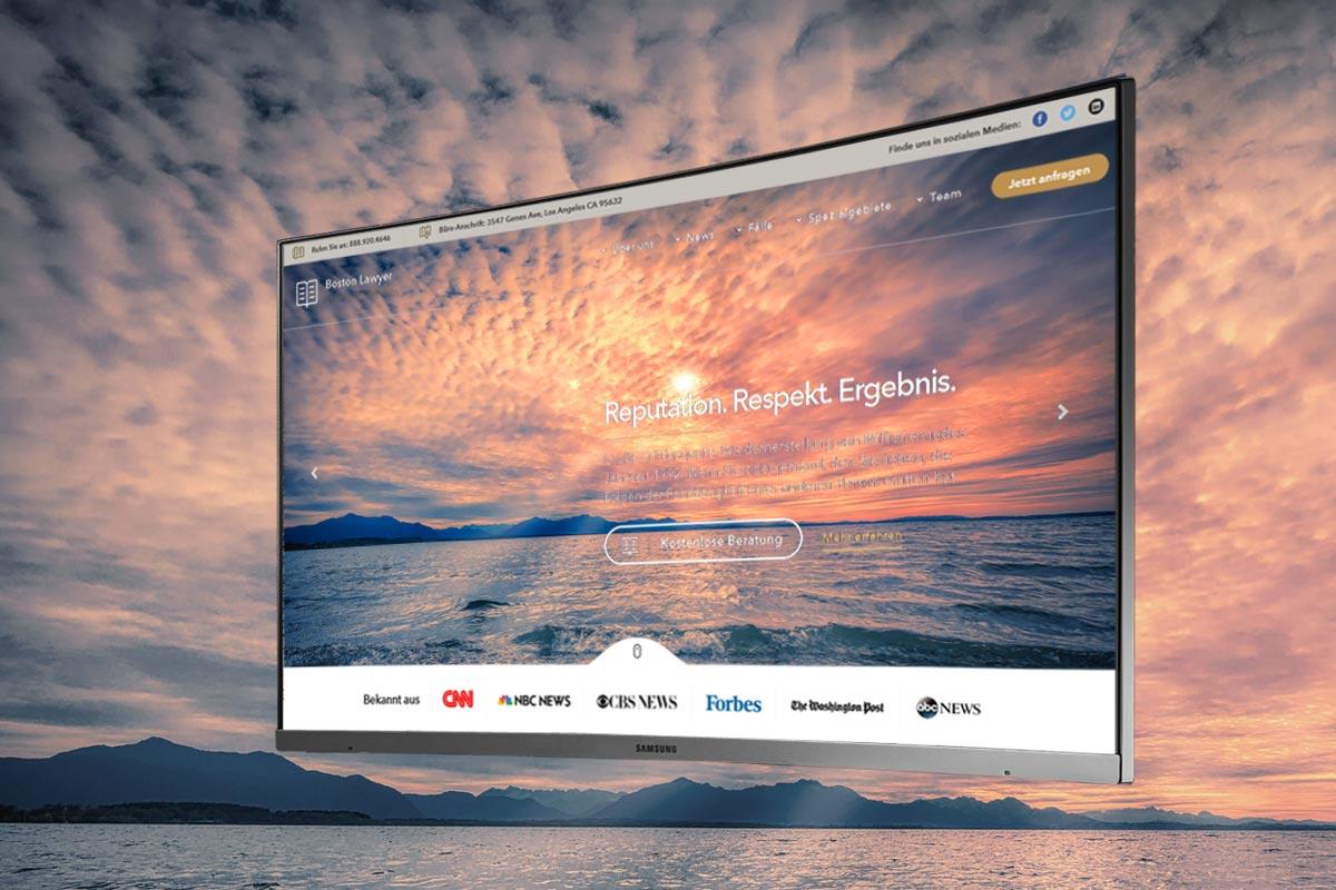Projektablauf einer Internetseite