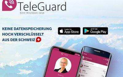 Die sichere WhatsApp- und Telegram-Alternative: TeleGuard