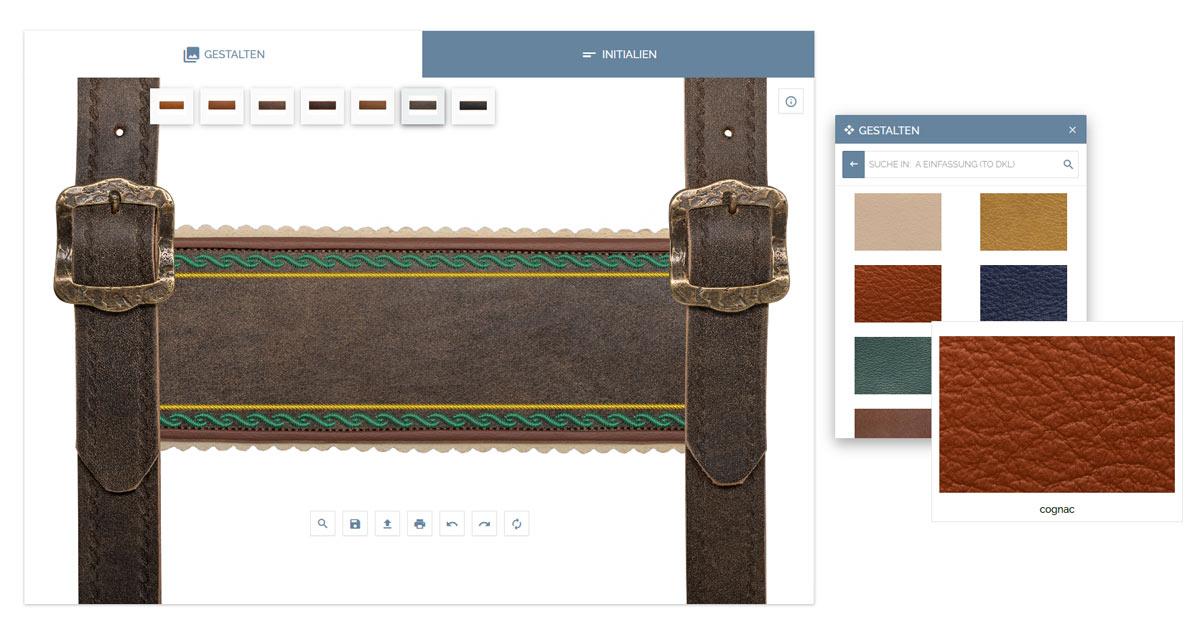 Produkt-Konfigurator in Online-Shop